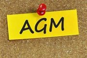 Minutes of the recent AGM