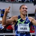 Elliot Giles breaks Seb Coe's 800m GB record